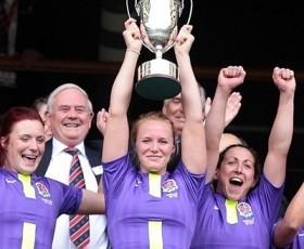 England Women Win 2012 London Sevens