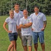 Fiona Pocok, Chris Cracknell, Pale Nonu and Mark Mapletoft at the FRN 7s