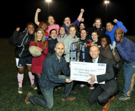 RBS Sponsors Local Women's Rugby Club