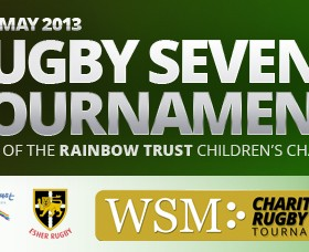 WSM Charity Rugby 7s Tournament: 18 May