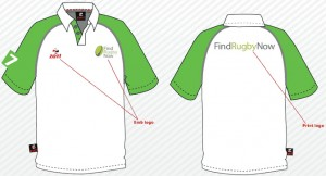 Zoti polo shirts for FRN 7s Tournament staff