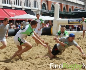 Doom Bar London Beach Rugby 2013 Review
