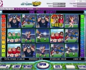 Rugby Themed Casino Games