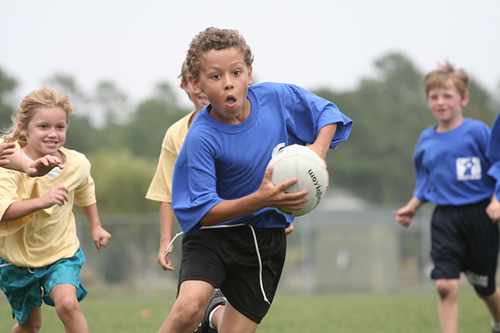 Use the Rugby World Cup to inspire your kids