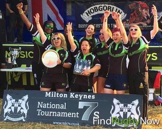 FRN 7s Women Win Milton Keynes 7s 2016!