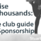 Free Sponsorship Guide for Rugby Clubs