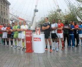 Marriott London 7s Launch: England Ready