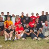 England 7s and FRN7s players pose for a photo