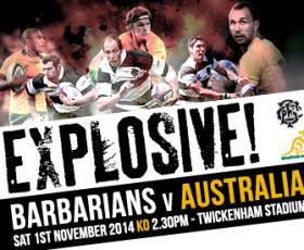 Kirwan set to coach Barbarians for Australia